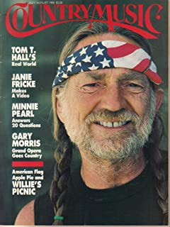 Country Music magazine, Number 114, July/August 1985 - Willie Nelson cover