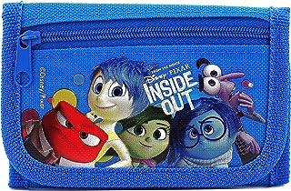 Disney Pixar Authentic Licensed Inside Out Trifold Wallet (Blue)