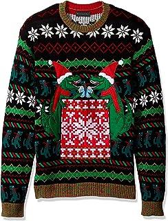 Blizzard Bay Men`s Ugly Christmas Sweater Drink Pocket