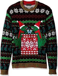 Men's Ugly Christmas Sweater Drink Pocket