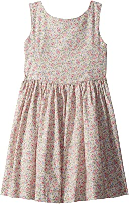 Polo Ralph Lauren Kids Floral Cotton Sleeveless Dress (Little Kids)