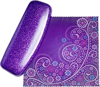 The Original Dazzling Sparkle Smooth Glitter Women's Eye Glass Case | SPUNKYsoul Collection