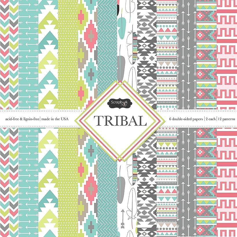 Scrapbook Customs Themed Paper Scrapbook Kit, Tribal