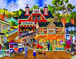 Jerrigan Bros General Store (Large Piece) 1000 pc Jigsaw Puzzle by SunsOut - Large Oversized Easy to Grasp Puzzle Pieces
