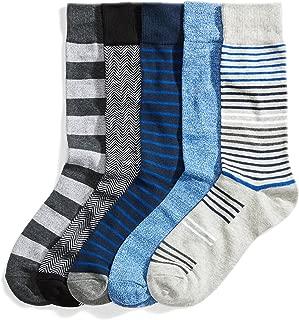 Men's Standard 5-Pack Patterned Sock Set