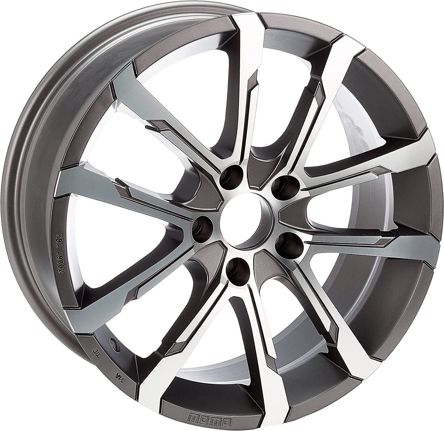 Now on sale MOMO WHEA75735500L - 7.5X17 ET35 5X100 Rims Free shipping / New Alloy Car