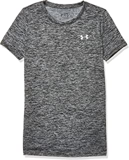 Under Armour Womens Tech Ssc - Twist-Blk Tees And T-Shirts