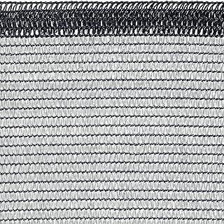 Tenax 1A140068 Soleado Glam Malla Tejida de ocultación de Color Gris Claro