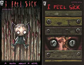 I Feel Sick, Set of Issues 1 and 2. Jhonen Vasquez. (Author of Johnny the Homicidal Maniac)