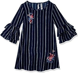 فستان مطرز بكشكشة كبير للفتيات من Beautees