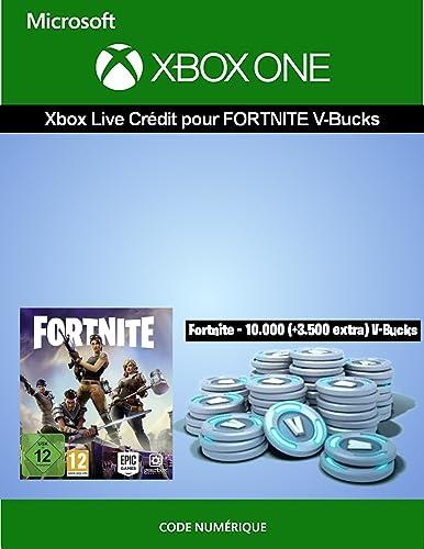 Crédit Xbox Live pour Fortnite - 10.000 V-Bucks + 3.500 extra V-Bucks | Xbox One - Code jeu à télécharger