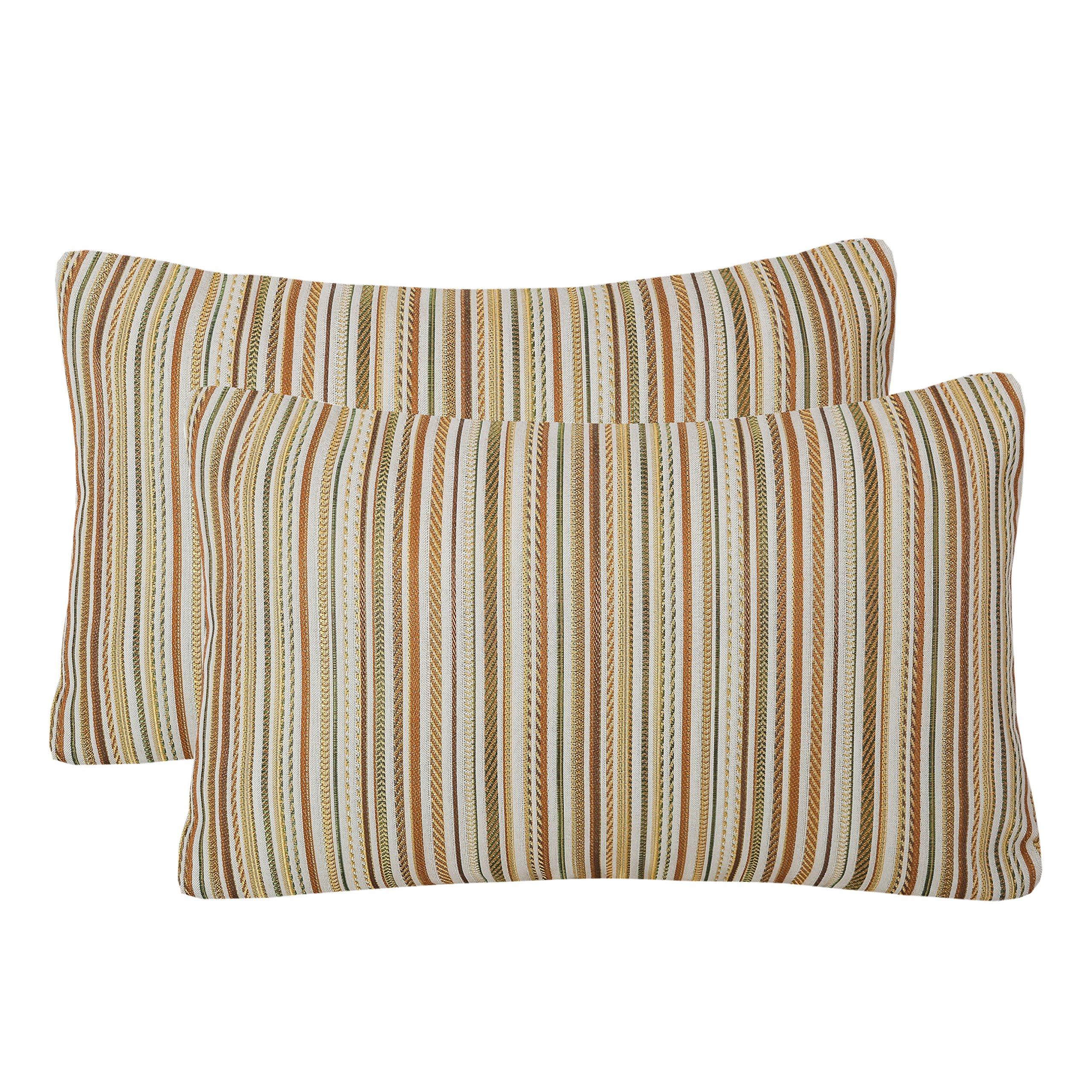 Simpledecor Jacquard Colorful Stripes Multicolor