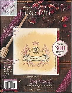 Stampers' Sampler Take Ten Magazine September October November 2016
