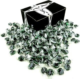 Choco Chocolate Starlight Mints, 2 lb Bag in a BlackTie Box