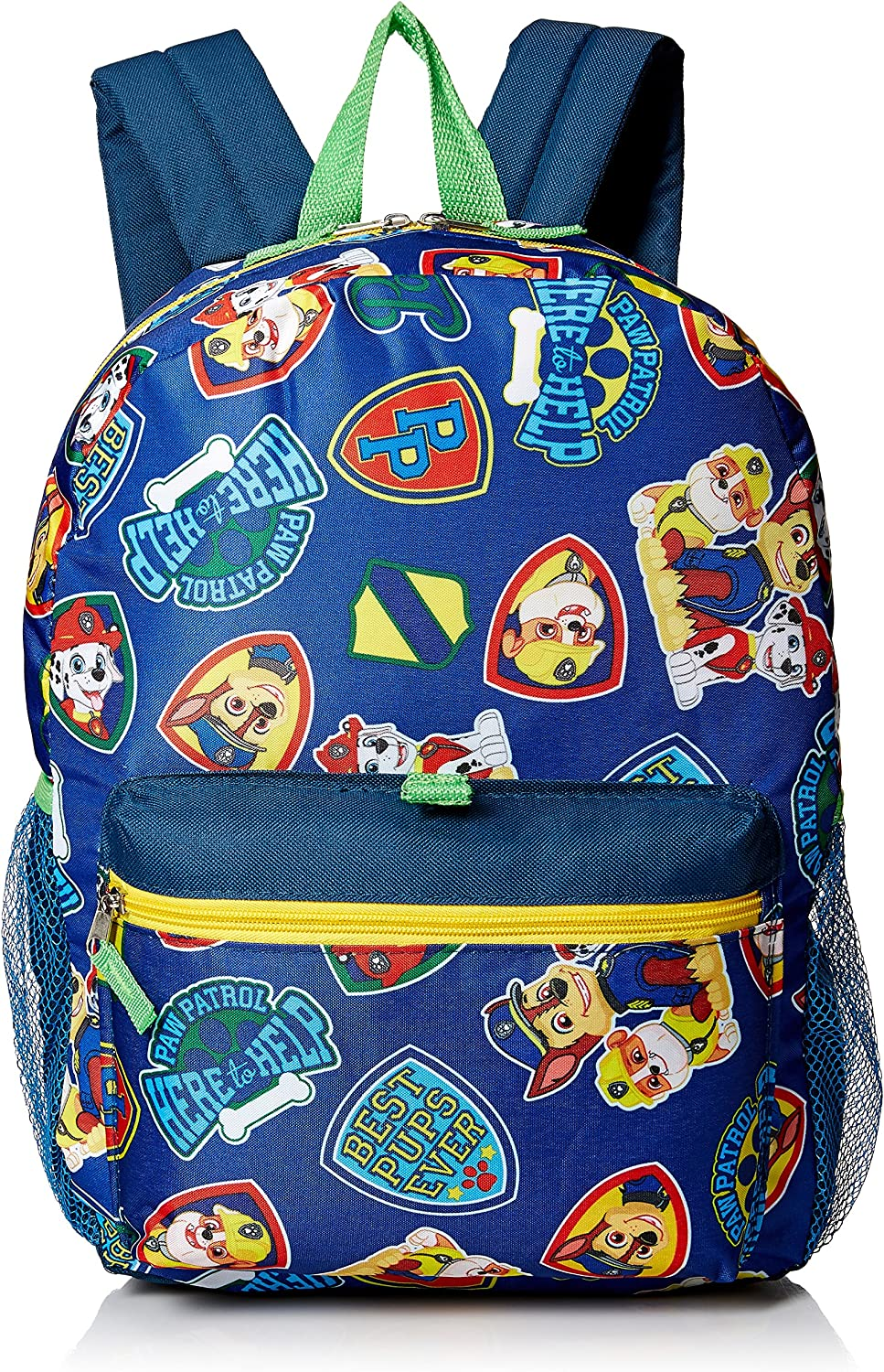 Nickelodeon Boys' Paw Patrol Backpack 5pc Set