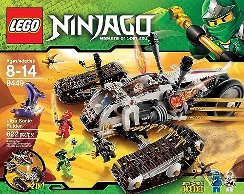 cómodo LEGO Ninjago Ninjago Ninjago Ultra Sonic Raider establece 9449  barato en alta calidad
