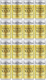 Fever-Tree Premium Indian Tonic Water 16 x 150 ml Pack of 2 Total 16 Cans