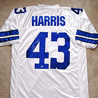 Cliff Harris Signed Custom Jersey - Dallas Cowboys Ring of Fame