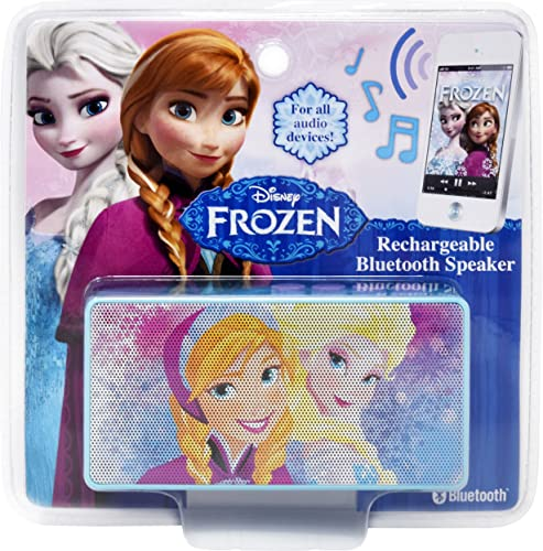 high quality Disney Frozen Bluetooth Speaker - Wireless Rechargeable Portable Speaker lowest with 3.5mm Headphone Port online Device, Stream Music From Computer, Tablet, Smartphone MP3 Player Or Other Bluetooth-Enabled Device sale