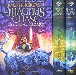 Magnus Chase and the Gods of Asgard Hardcover Boxed Set (Magnus Chase and the Gods of Asgard)