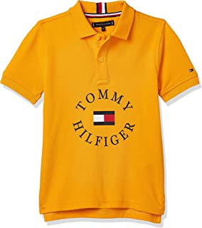 Tommy Hilfiger A-line dress for girls in Radiant Yellow, Size:16years