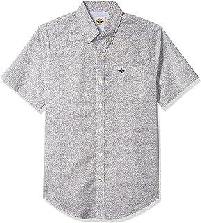 Dockers Men's Short-Sleeve Button-Down Comfort Flex Shirt