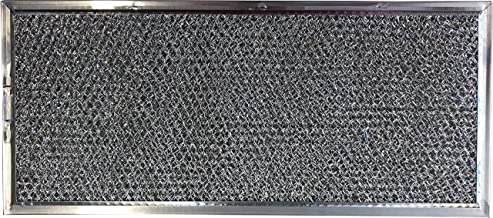Replacement Aluminum Microwave Filter Compatible With Whirlpool W10120839A and More - 5-5/8 x 11-5/8 x 3/32 inches - 1 Pack