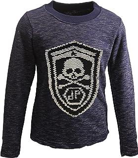 31c5c99628 Piraten Jungen Sweatshirt Pullover Wende Pailletten Bluse Langshirt Pulli