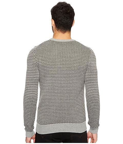 Neck Herringbone Ellis Crew Perry Sweater TwPqYOWt