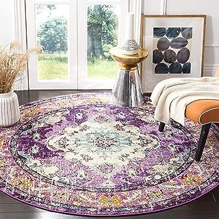 shabby chic round rug