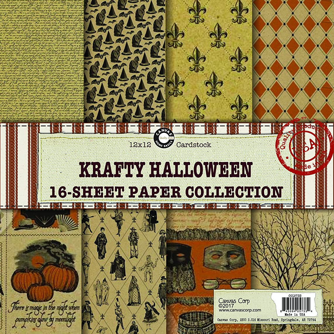 Canvas Corp Krafty Halloween Paper Collection