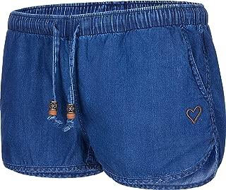 alife & kickin Damen Shorts Amelia Hotpants Kurze Hose Jeans Denim Sommer XS-XL
