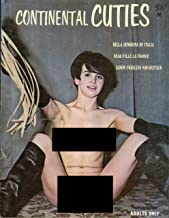Continental Cuties 1960's Vintage Girlie Magazine