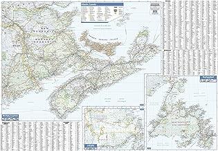 Maritimes Wall Map - Large - 54
