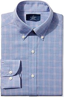 Amazon Brand - BUTTONED DOWN Men's Slim Fit Plaid Dress...