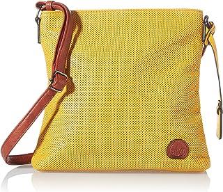 Rieker Damen H1033 Handtasche, Gelb, 300x50x280