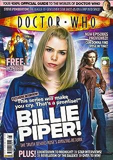 Billie Piper, Steve Pemberton, Joe Dempsie - January 25, 2008 Doctor Who Magazine Issue #396