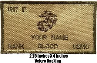 usmc name patch