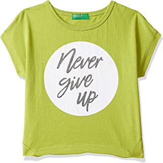 United Colors of Benetton Baby Girl's Plain Regular fit T-Shirt