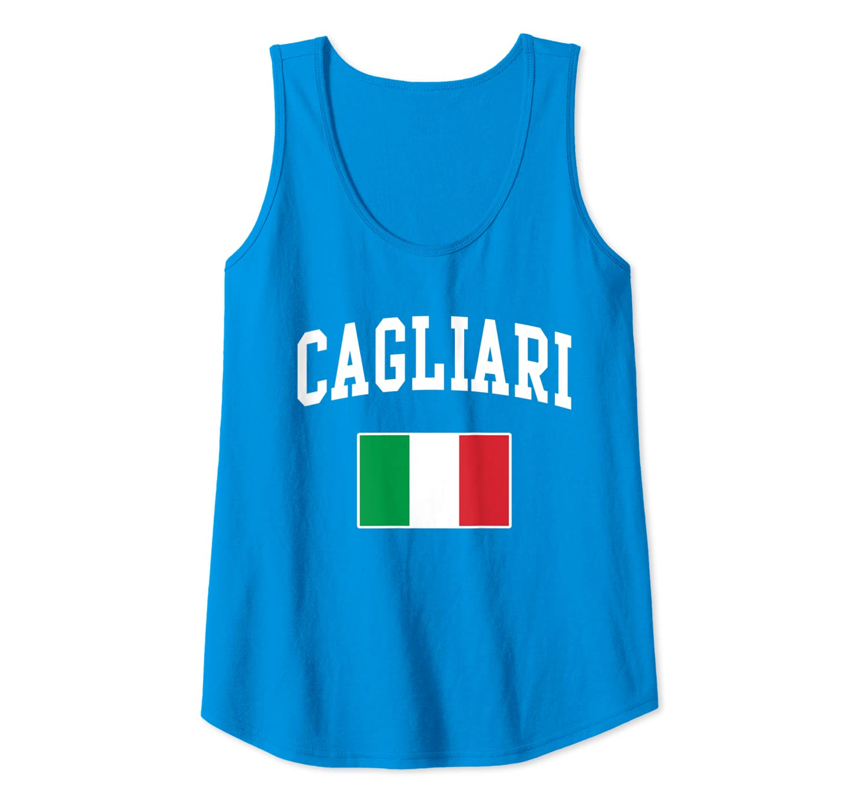 Italia Cagliari Italy Italian Flag Italiano Men Women Kids Canotta