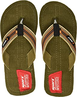 Sparx Men's Denim Flip-Flops and House Slippers