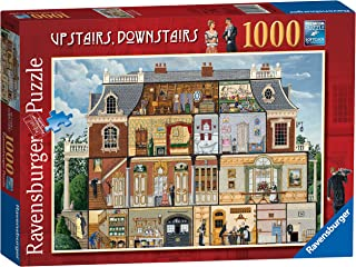 Ravensburger Upstairs Downstairs 1000pc Jigsaw Puzzle