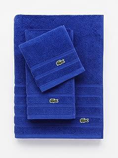 Lacoste Croc Towel, 100% Cotton, 650 GSM, 13