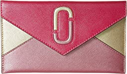 Marc Jacobs - Saffiano Double J Liaise Envelope