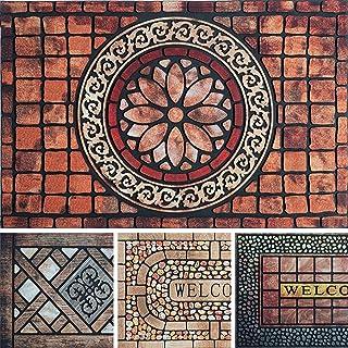 23x36 Door Mat Indoor Entrance - Absorbing Door Mat - Stylish Indoor Door Mat - Front Door Mat Indoor - Durable Doormat In...