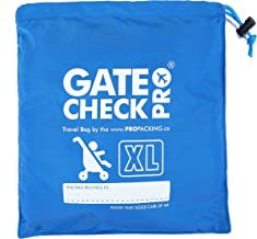 gate check pro xl double stroller travel bag