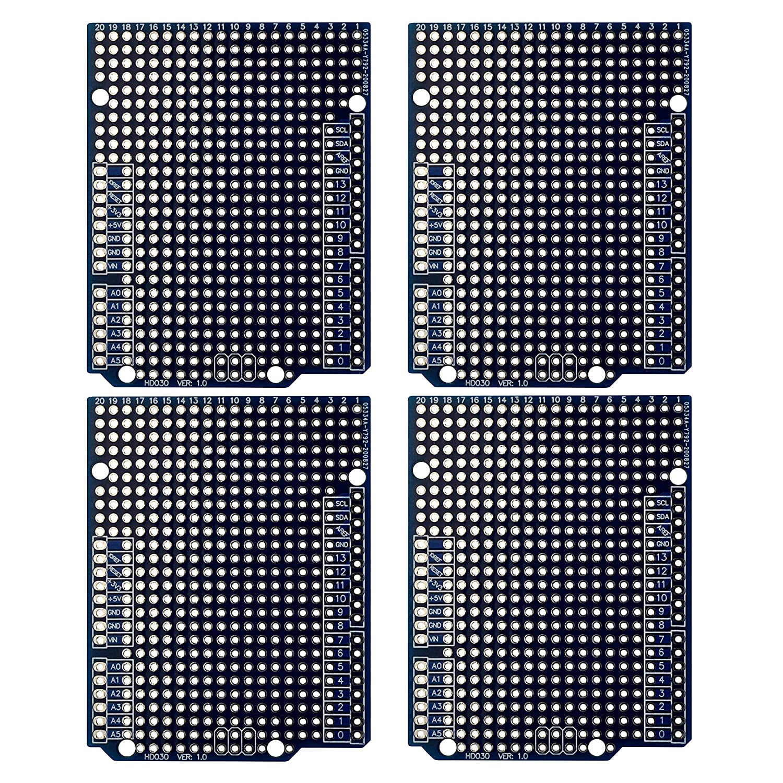 4X Prototype shopping PCB for Arduino R3 Board DIY Shield UNO Popular