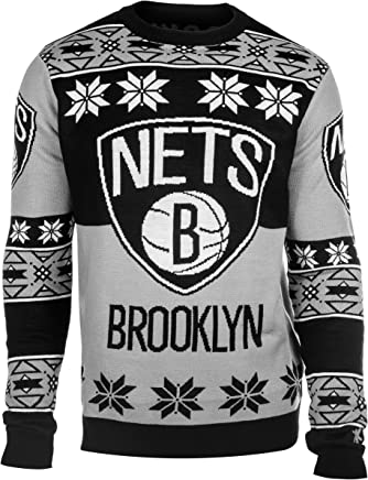 Outerstuff NBA Youth Boys Brooklyn Nets 8-20 Long Sleeve Ugly Sweater 459f94c93e6c