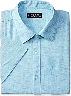 Diverse Men's Solid Formal Shirt