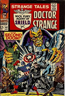 Autograph Strange Tales #161 VF Signed by Jim Steranko (Strange Tales Doctor Strange and Nick Fury, Agent of SHIELD)